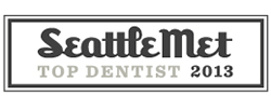 Award for being a top Seattle dentist in 2013