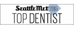 Seattle Top Dentist Award logo 2015