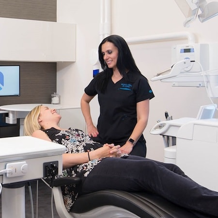Aesthetica New Patients have a comprehensive exam