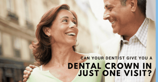 At your Seattle dentist you can get a dental crown in just one visit!